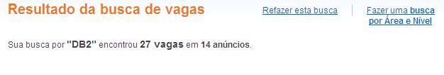 DB2VAGAS