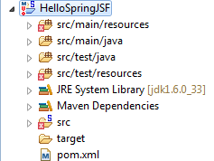 helloSpringJSFProject
