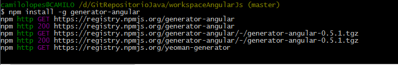 yoemaninstallangular
